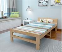 Giường xếp gỗ thông NKT-WD800